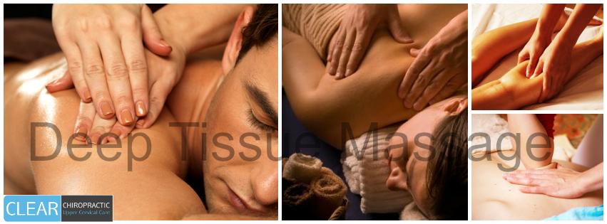 Deep Tissue Massage Therapy Services in Redmond, Kirkland, and Spokane, WA