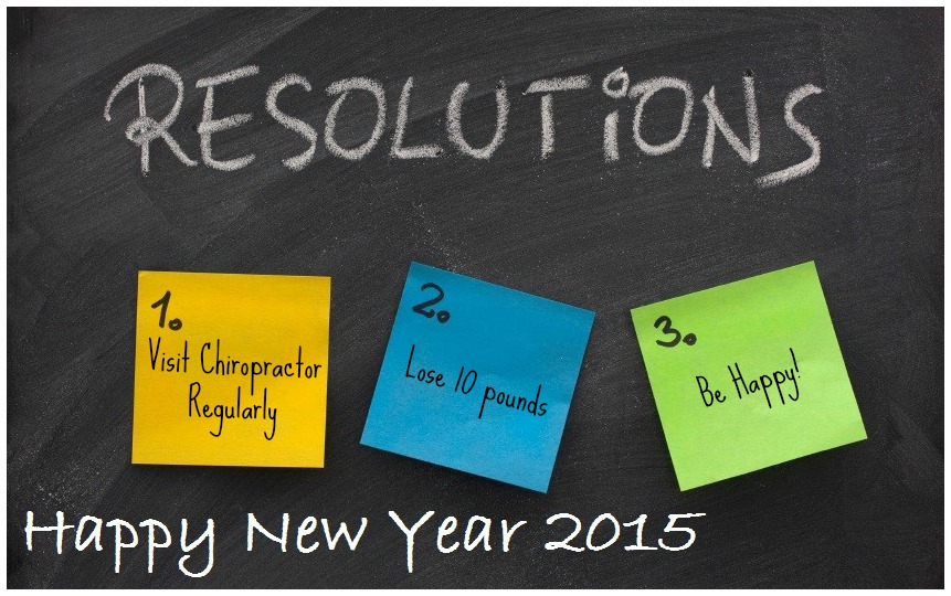 New Years 2015 resolutions