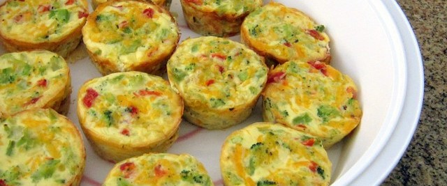 Christmas morning healthy quiche