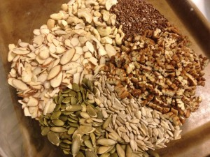 Ingredients for Smarty Pants Granola