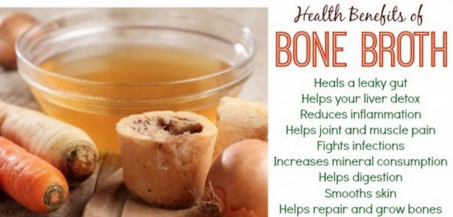 bone broth benefits and recipe
